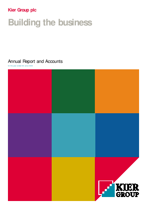 Kier Group annual report 2000