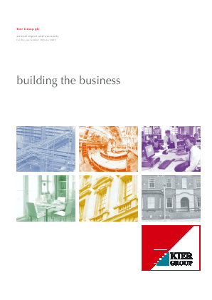 Kier Group annual report 2003
