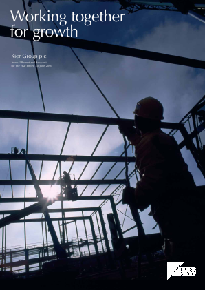 Kier Group annual report 2004