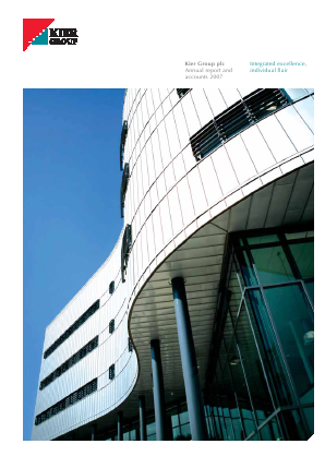 Kier Group annual report 2007