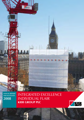 Kier Group annual report 2008