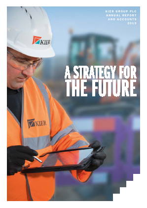 Kier Group annual report 2019