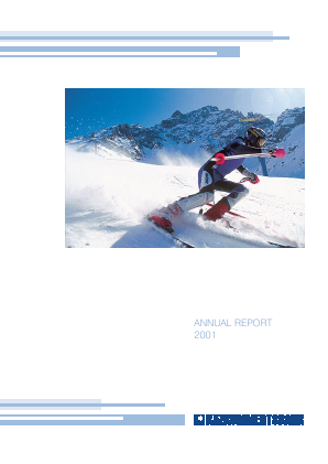 Kazkommertsbank JSC annual report 2001