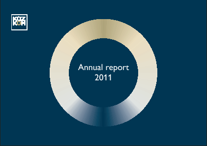Kazkommertsbank JSC annual report 2011