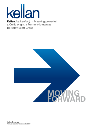Kellan Group Plc annual report 2007