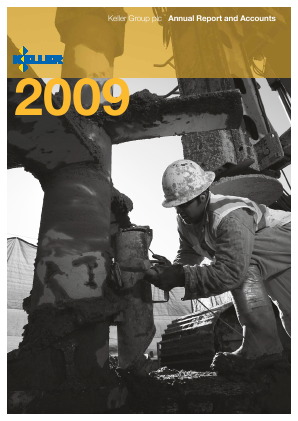 Keller Group annual report 2009