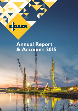 Keller Group annual report 2015