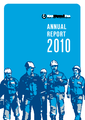 Kazmunaigas Exploration Production annual report 2010