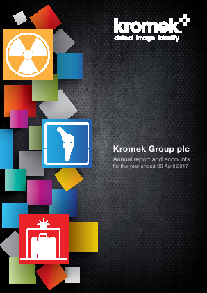 Kromek Group Plc annual report 2017