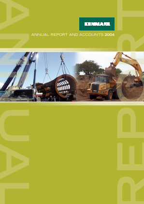 Kenmare Resources annual report 2004