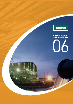 Kenmare Resources annual report 2006