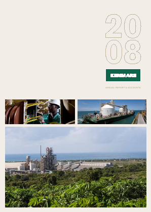 Kenmare Resources annual report 2008
