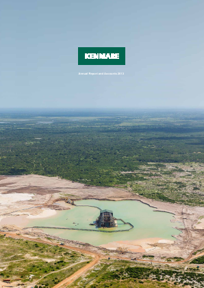 Kenmare Resources annual report 2013