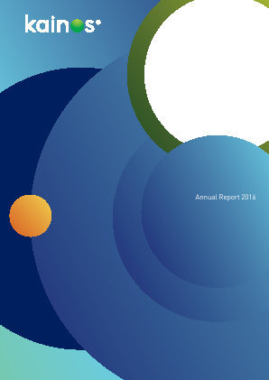 Kainos Group annual report 2015