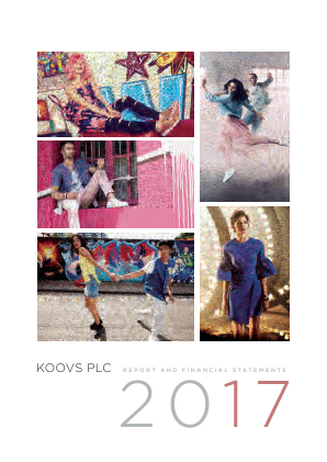 Koovs Plc annual report 2017