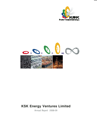 Ksk Power Ventur Plc annual report 2009