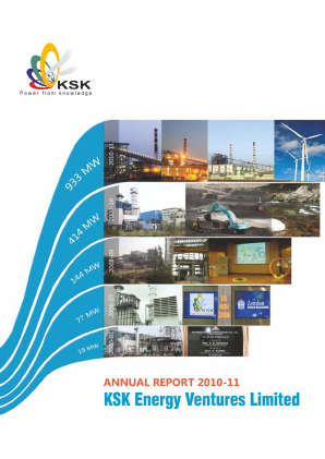 Ksk Power Ventur Plc annual report 2011