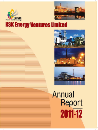 Ksk Power Ventur Plc annual report 2012