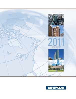 Kennedy Wilson Europe Real Estate Plc annual report 2011