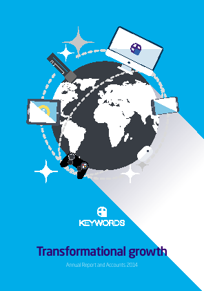 Keywords Studios Plc annual report 2014