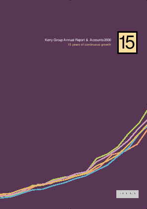Kerry Group Plc annual report 2000