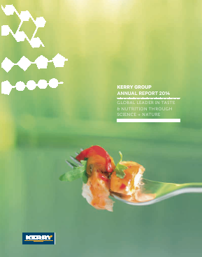 Kerry Group Plc annual report 2014