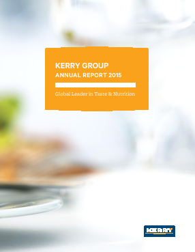 Kerry Group Plc annual report 2015