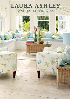Laura Ashley Holdings annual report 2015