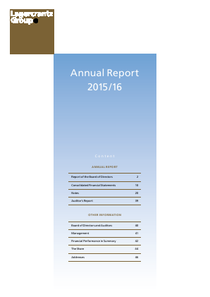 Lagercrantz Group annual report 2016