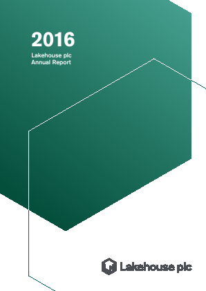 Lakehouse Plc annual report 2016