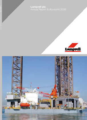 Lamprell Plc annual report 2006