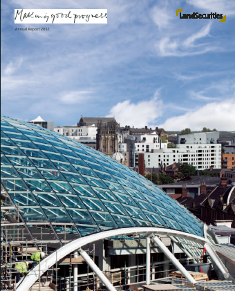 Land Securities Group Plc annual report 2012