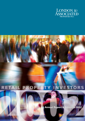 London & Associated Properties annual report 2002