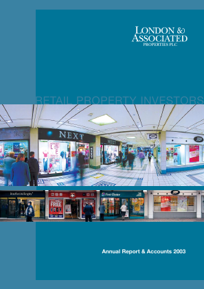 London & Associated Properties annual report 2003