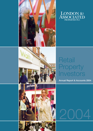 London & Associated Properties annual report 2004