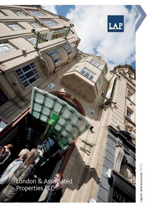 London & Associated Properties annual report 2013