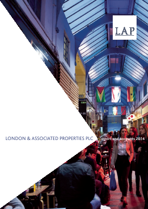 London & Associated Properties annual report 2014