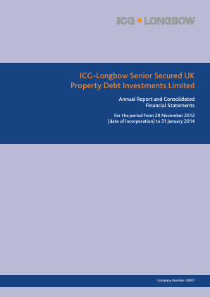 ICG-Longbow Senior Secured UK Property Debt Investments annual report 2014