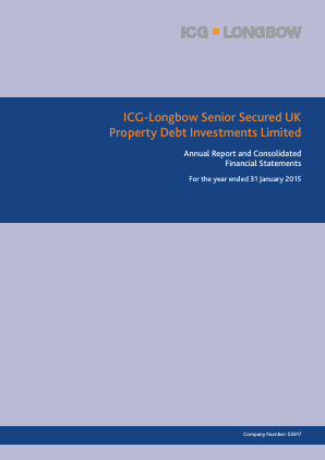 ICG-Longbow Senior Secured UK Property Debt Investments annual report 2015