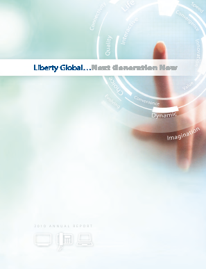 Liberty Global plc annual report 2010