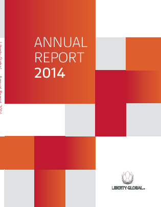 Liberty Global plc annual report 2014
