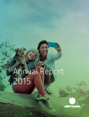 Liberty Global plc annual report 2015