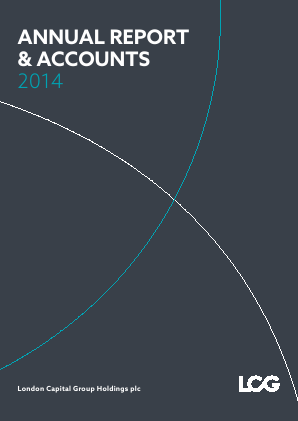 London Capital Group Holdings Plc annual report 2014