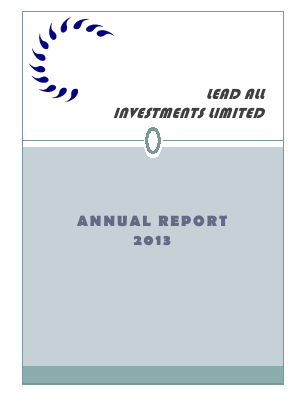 Lead All Investments annual report 2013