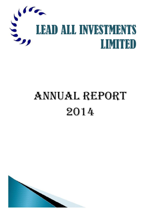Lead All Investments Ltd annual report 2014