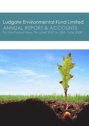 Ludgate Environmental Fund Ltd annual report 2008