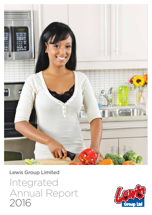 Lewis Group annual report 2016