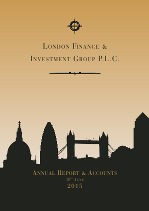 London Finance & Investment Group annual report 2015