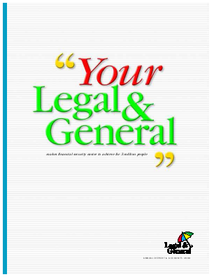 Legal & General Group annual report 2000