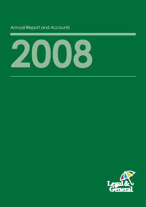 Legal & General Group annual report 2008